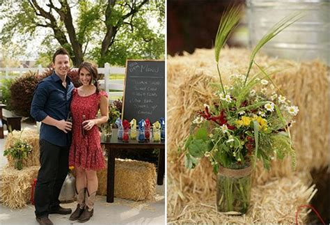 Backyard Bbq Engagement Country Wedding Ideas Ideas For Our Country Themed