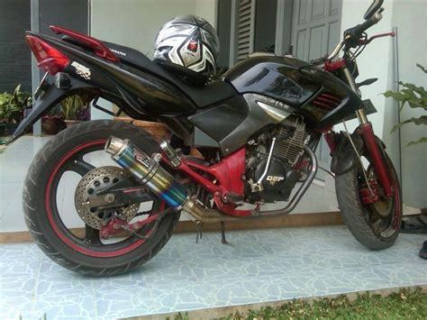 modif honda tiger   revo street fighter modifikasi motor honda tiger tiger revo honda