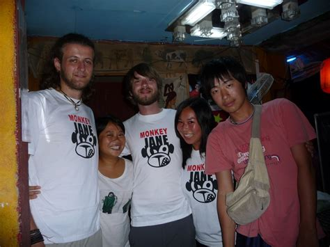 T Shirt Backpacker Indo Peta the best hostels in asia bunch of backpackers