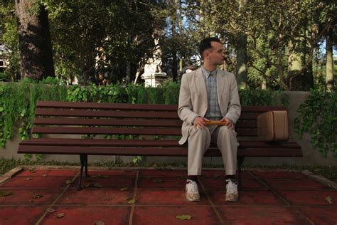 forrest gump park bench just some movies forrest gump