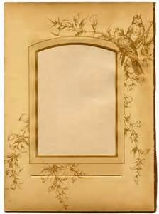 photo album sheets the graphics llc vintage ephemera printable album page with birds
