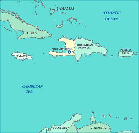 america map haiti map of haiti