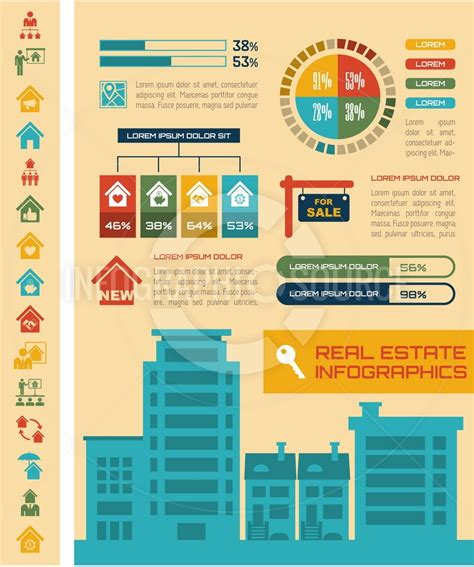 real estate infographic template 7 infographicsource