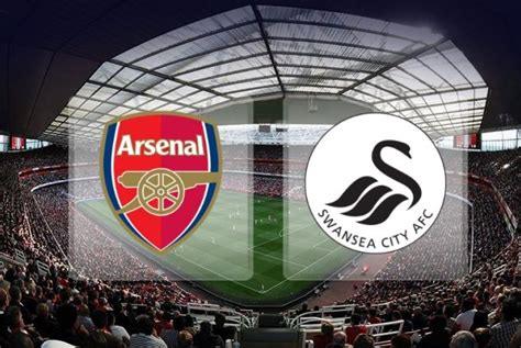 arsenal vs swansea enam fakta angka jelang laga arsenal vs swansea city