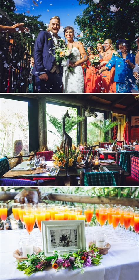 an safari themed wedding at akamba garden