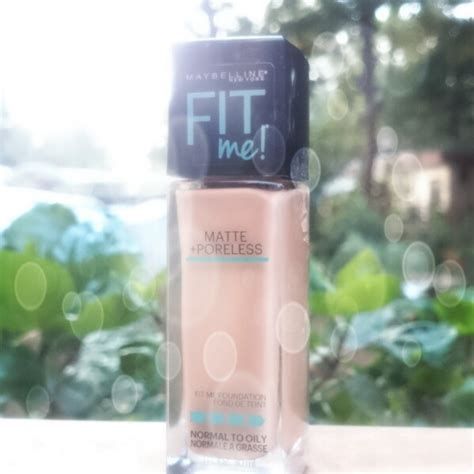 Maybelline Fit Me Foundation Review Harga maybelline fit me foundation review shade 310 sun beige indian shringar