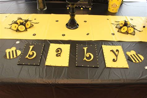 Rustic Baby Shower Decorations Bee Themed Gender Reveal Gender Reveal Party Ideas Photo
