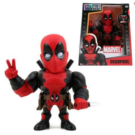 figure casts deadpool 4 inch die cast metal figure toys