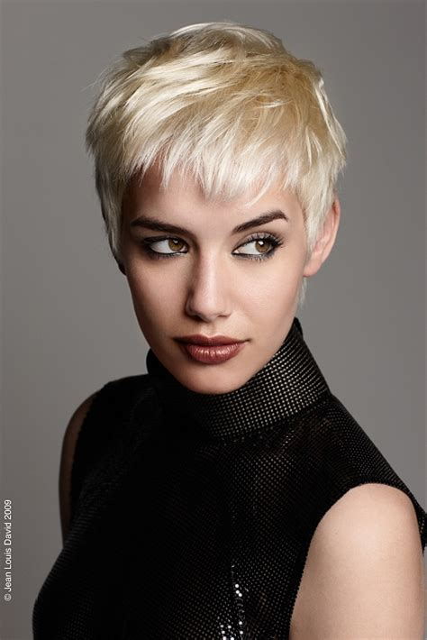 a short blonde hairstyle from the regis collection no 22111 a short blonde hairstyle from the jean louis david