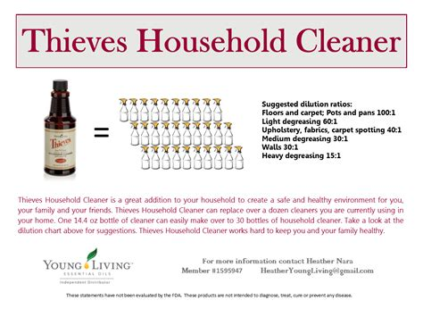 Jan 14 Natural Cleaning Recipes   Heather's YL Essential Oils