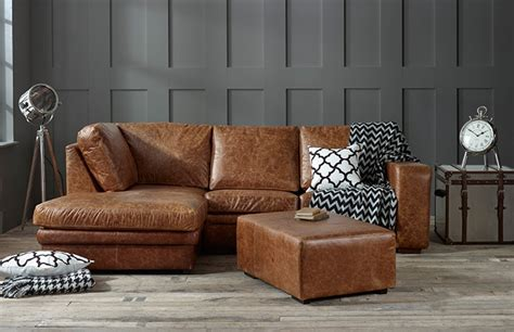 left hand corner chaise sofa the english sofa company abbey leather corner chaise