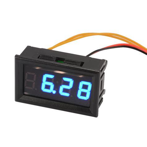 Led Digital yb27t blue automotive electronic clock car led digital