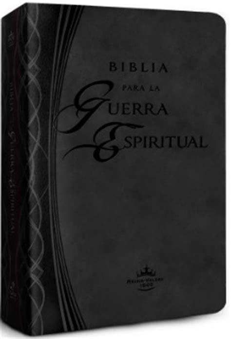 biblia para la guerra 1616385200 biblia para la guerra espiritual piel italiana negra rvr60 9781621368304 comprar libro