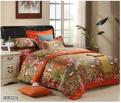 king size bed in a bag orange comforter set brand orange bedding set luxury cotton sheets king size quilt duvet cover bed in