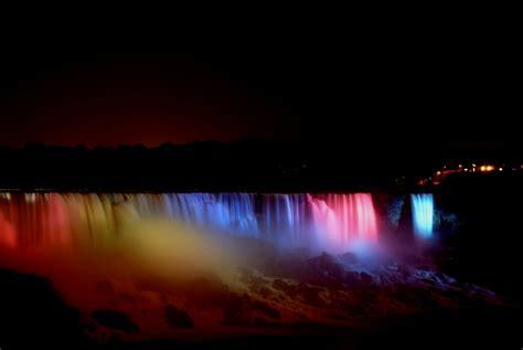 niagara falls at night niagara falls at night funnilogy