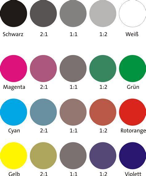 welche farben ergeben braun ihre ideen alle farben grau pelikan
