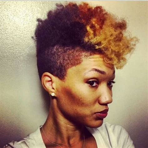ahirt shaved sides naturalvhairstyle 526 best short natural hair and tapered too images on