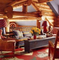 Log Home Decorations Haute Log Cabin Decor Atticmag Living Room Den Pinterest