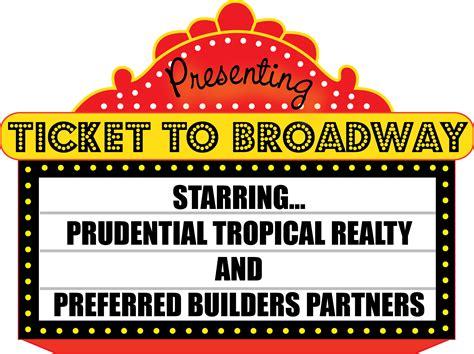 27 Broadway Clip Art Broadway Show Ticket Template
