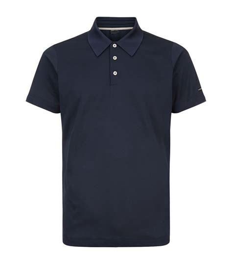 Porsche Kleidung by Porsche Design Pique Polo Shirt In Blue For Lyst