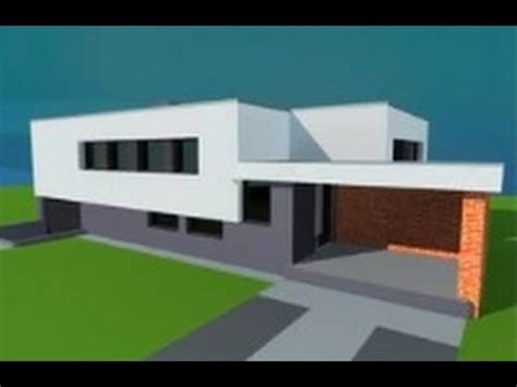google sketchup house tutorial modern house in google sketchup fast tutorial youtube