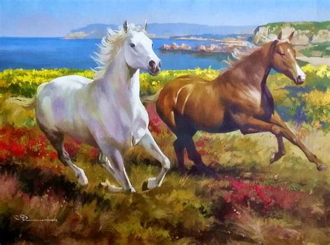 imagenes de paisajes y caballos paisaje caballos imagui