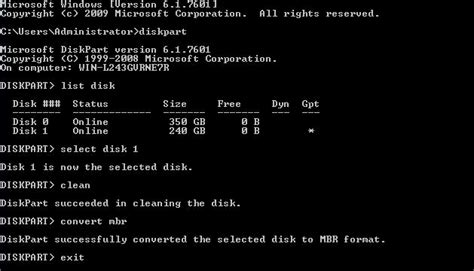 diskpart format mbr to gpt windows cannot be installed to a disk here are solutions