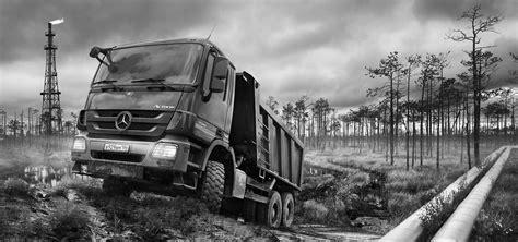 international taskforces der mercedes trucks