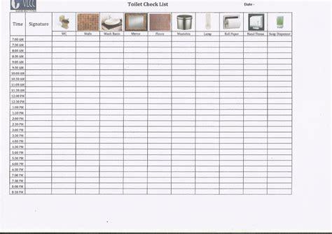 checklist of washroom getpaidforphotos com toilet cleaning log getpaidforphotos com