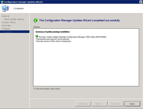 installing the sccm hotfixes on the clients ccmexec com configuration manager 1606 hotfix kb3180992 smikar software