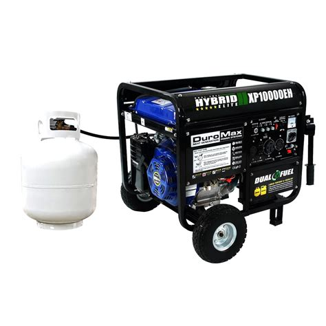 duromax dual fuel generator xp10000eh 10000 watt lp