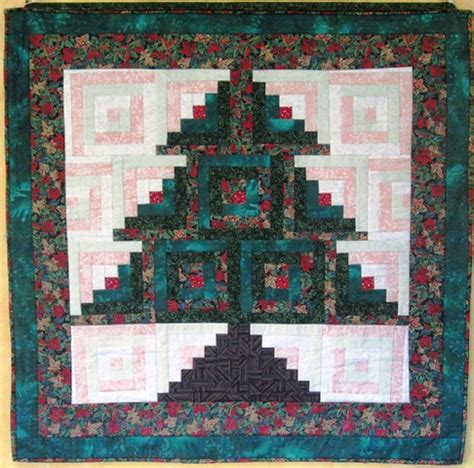 Free Log Cabin Quilt Patterns by Tree Quilts Patterns Quilts Patterns