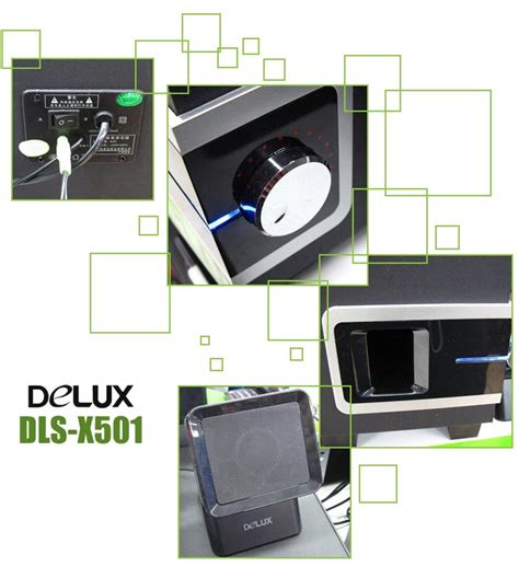 Delux Dls X501 2 1 Ch delux 2 1 channel system speaker dls x501 with 1000 pmpo
