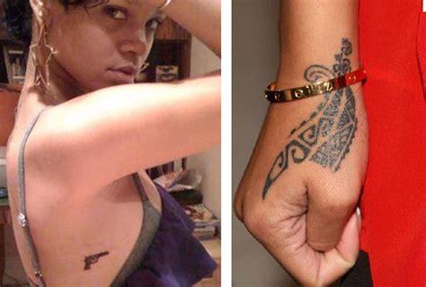 gun tattoo on finger meaning rihanna tattoos 29 dress up games tattoo pinterest