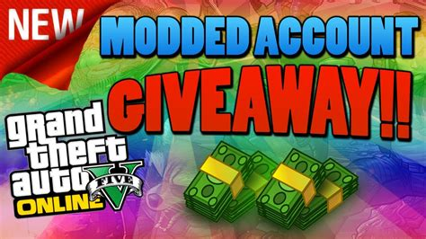 Gta 5 Giveaway - gta 5 online comming soon a modded account giveaway for ps4 youtube
