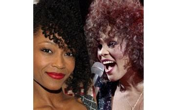 whitney houston biopic how yaya dacosta became the singer whitney houston biopic to star yaya dacosta ebony