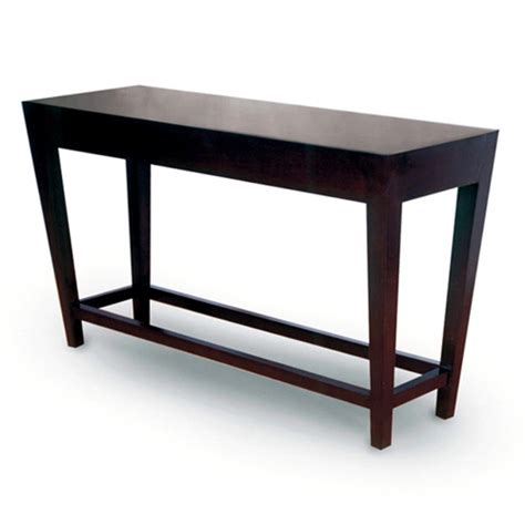 wilshire espresso sofa table marion wood console table espresso on birch tapered