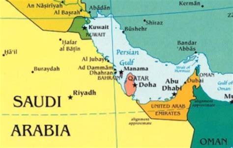 qatar uae map uae saudi arabia and bahrain recall their ambassadors