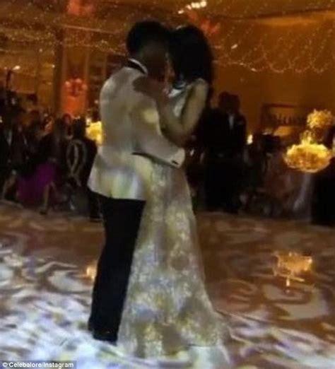 chanel iman married sterling shepard chanel iman weds ny giants football star sterling shepard