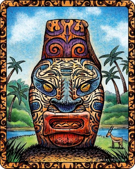 mystic tiki tattoo 61 best tiki images on bricolage babies