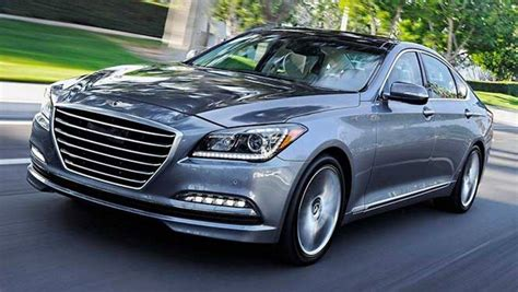 2015 hyundai genesis review sedan drive car