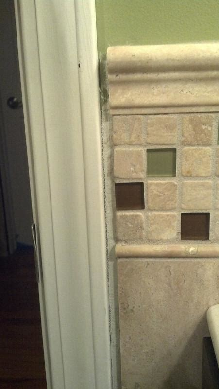 1 Drywall Floor Gap - gap between tile and wall tile design ideas