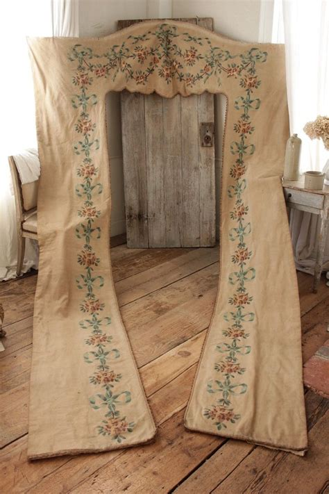 portiere curtains antique portiere french curtain textile block 19th century
