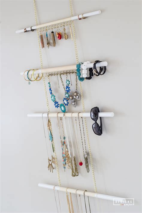 how to make a hanging jewelry organizer diy modern hanging jewelry organizer designs of any