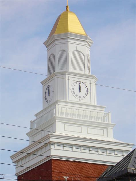 Cupola In Church Steeple And Cupolas Installation Cvilleindustries