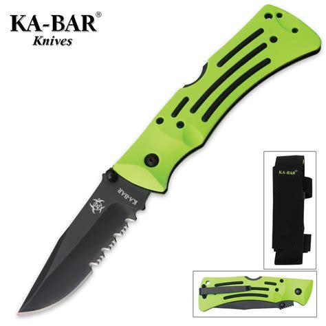 ka bar killer knives ka bar killer zk mule pocket knife serrated budk