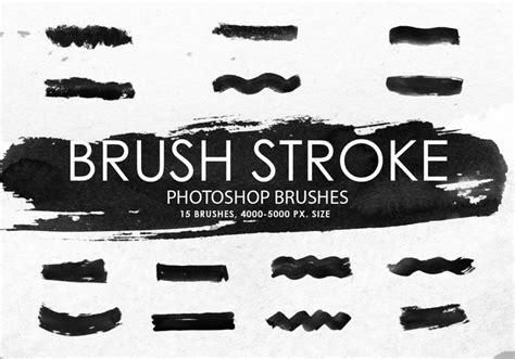 Free Brush Stroke Photoshop Brushes   Free Photoshop