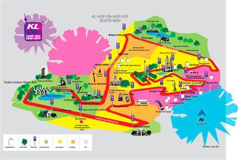 kuala lumpur map tourist attractions kuala lumpur shuttle map kuala lumpur mappery