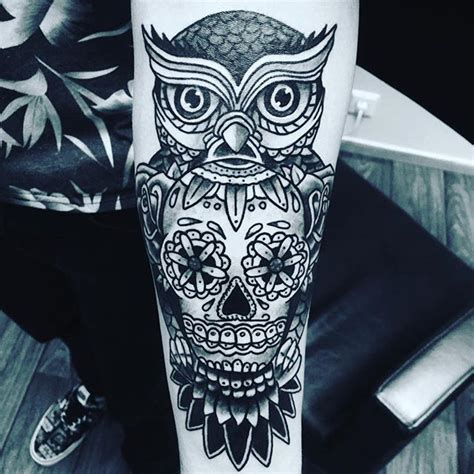 owl bird tattoo inked on instagram