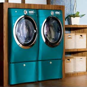 colored washer and dryer this teal washer dryer set home decor